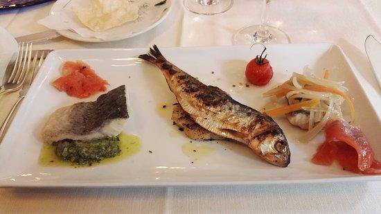 San Mamete Valsolda, Italia: Misto pesci di lago