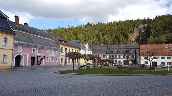 Jimramov town centre