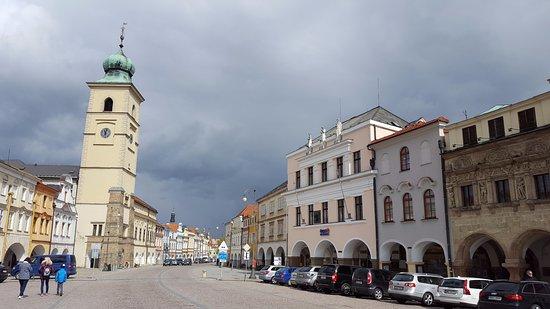 Litomysl town square