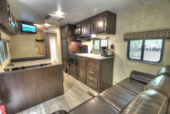 Rv Rental Interior Picture Of Greenbrier Campground Gatlinburg Tripadvisor