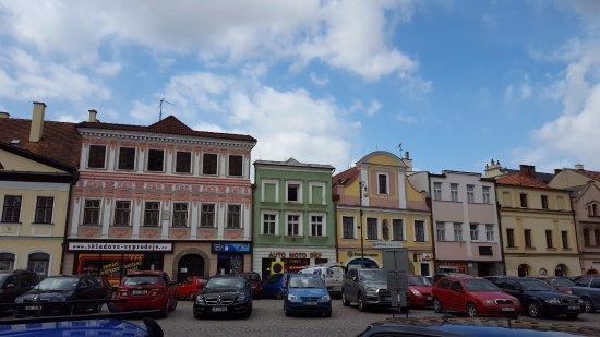 Litomysl, Czech Republic: the main square