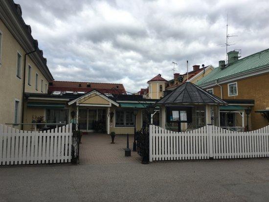 Trosa Stadshotell & Spa: Hotell entré