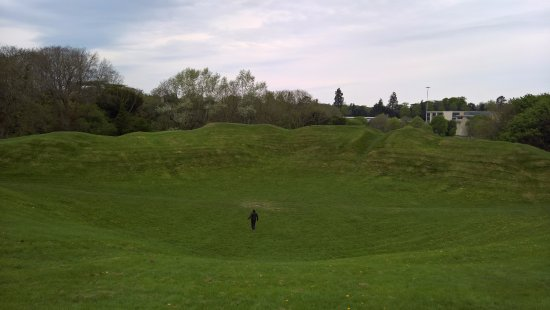 Colesbourne, UK: Amphitheater at Cirencester