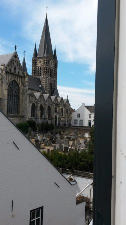 View from my bedroom - Picture of Fletcher Hotel-Restaurant La Ville ...