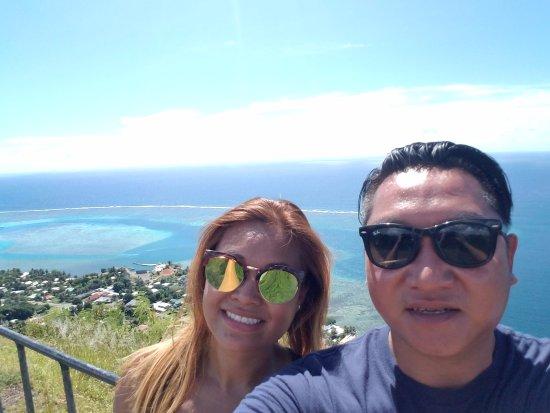 Papetoai, French Polynesia: Magic Mountain look out on our ATV Tour