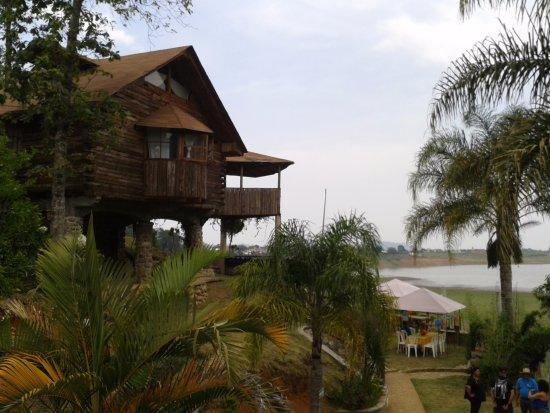 Tenango de las Flores, Mexique : Cabañas Tzahuinco, Vista desde la cabaña en que me quede.