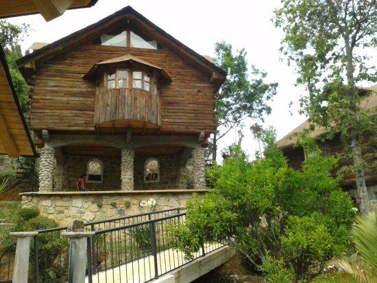 Tenango de las Flores, Mexique : Vista desde la cabaña en que me quede.. Cabañas Tzahuinco