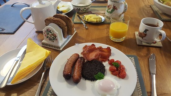 Buckie, UK: delicious homecooked breakfast!