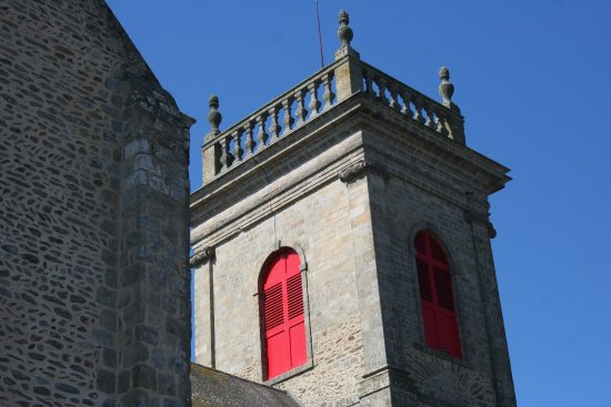 Saint-Gildas-de-Rhuys, France: abbatiale