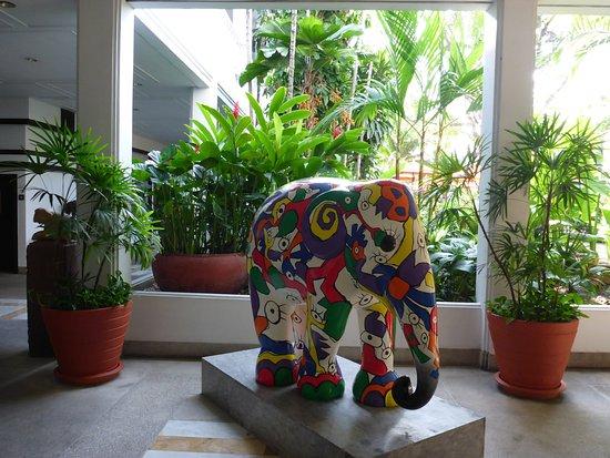 Autour du jardin billede af anantara riverside bangkok for Autour du jardin