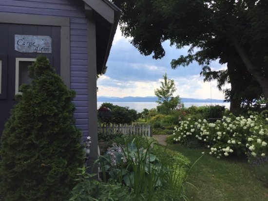 One of a Kind Bed and Breakfast: Walkway to the cottage