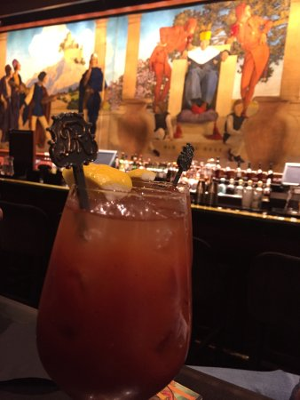 King Cole Bar : Their famous Red Snapper