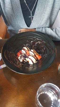 Geilo, Noruega: Dessert, vanilla icecream