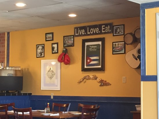 Indialantic, FL: Inside the restaurant