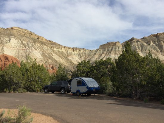 Cannonville, Юта: Campsite at Kodachrome Basin State Park