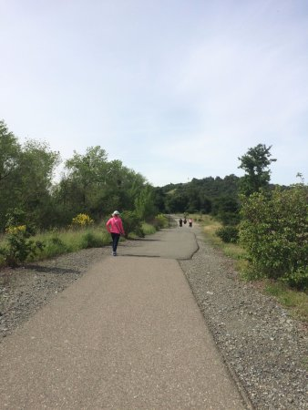 Cloverdale, Kalifornia: Walking trail