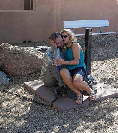 Wickenburg, Аризона: No he's not real...