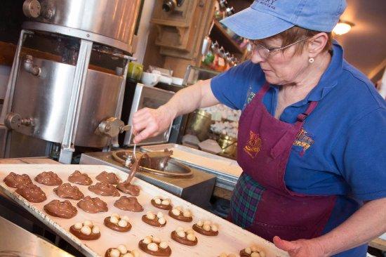Philipsburg, MT: Putting Milk Chocolate on the Dinosaur Nests
