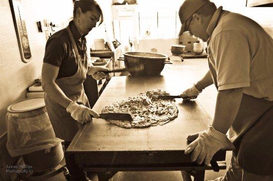 Philipsburg, MT: Making Peanut Brittle
