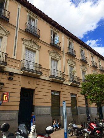 Hostal Salome: Entrance to the hostal