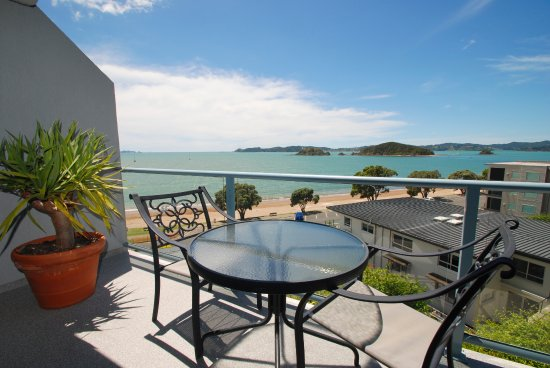 Blue Pacific Apartments Paihia: View from two bedroom, two bathroom apartment