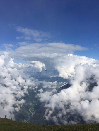 Mannlichen: Up above the clouds!