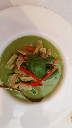 Blue Elephant Thai Restaurant: Green Curry with Chicken