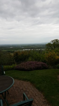 Malvern Wells, UK: View from the terrace