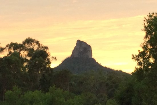 Glass House Mountains Foto