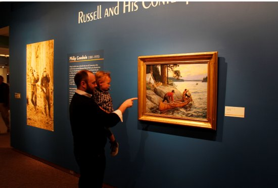 Engaging exhibits await at the C.M. Russell Museum.