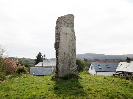 Taynuilt, UK: The Lorn/Bonawe Workers Memorial to Lord Nelson
