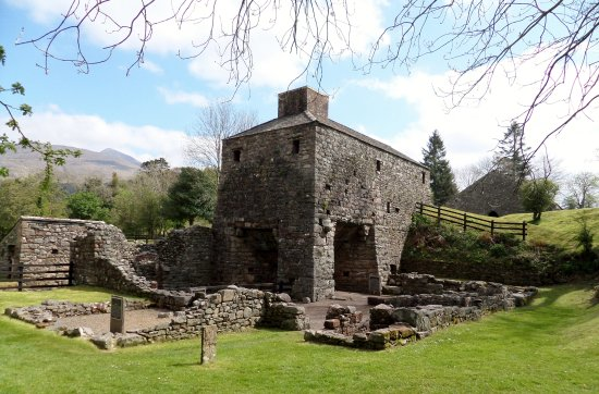 Taynuilt, UK: The furnace and bellow house