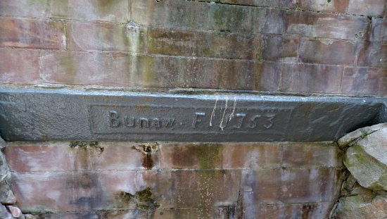 Taynuilt, UK: Lintel made at the Newland Ironworks in Cumbria