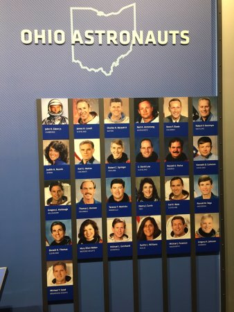 NASA Exhibit - All astronauts from Ohio - Picture of Great ...