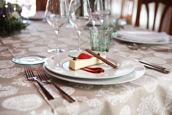 Jerica, Spain: Deliciosa tarta de queso del Chef Denny Chong