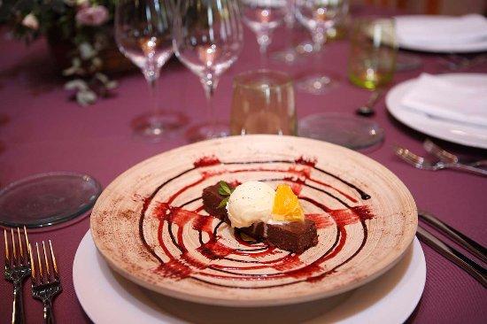 Jerica, Spain: Riquísima tarta chocolate