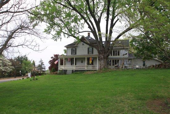 Sharpsburg, แมรี่แลนด์: View from the driveway