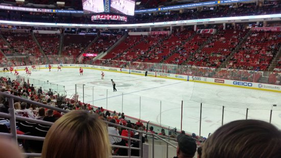 PNC Arena: During Game