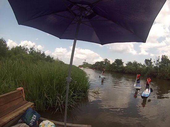 Hahnville, LA: Paddling near the lake but down the bayou at the Wetland Watchers Park in Norco, LA