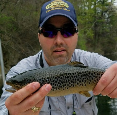 Charlemont, MA: Awesome guides, awesome fishing!
