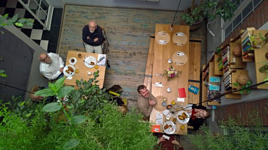 El patio 77, first eco-friendly B&B in Mexico City: ¿Which is the best time in PATIO 77 ? ¡¡ BREAKFAST ¡¡