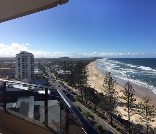 Coolum Beach, Australia: View from our Balcony on the 10th floor