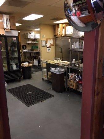 Englewood, CO: Pretty spotless kitchen prep area