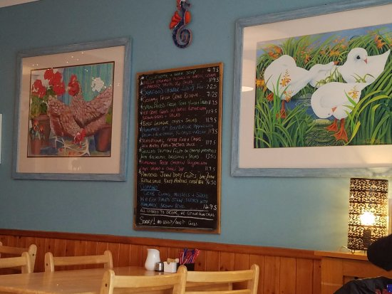 Chowder Cafe Dingle Menu