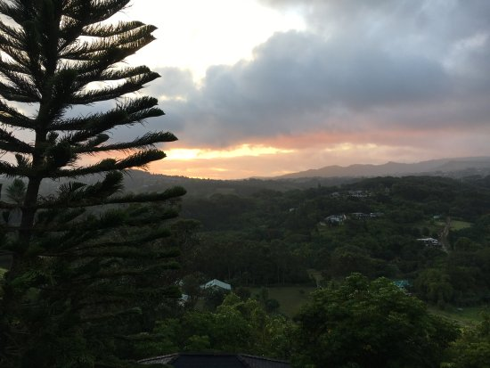 Lawai, HI: Sunset from the Sunset View room
