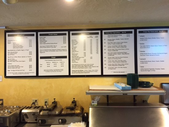 Northborough, MA: Menu
