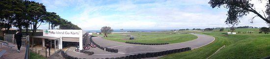 Ventnor, Australia: Overview of the go kart track