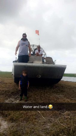 Ray's Airboat Rides: Showing us what this badass boat can do