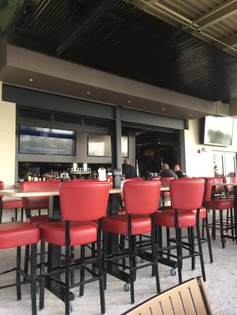 Port Saint Lucie, FL: The outside patio and bar