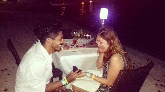 Cancun Bay Resort: Esta fue la cena que me organizó el staff